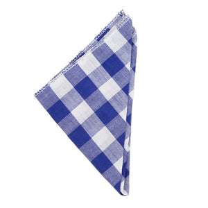 Greenfield Collection Checkered Cotton Napkin The Greenfield Collection