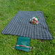 Greenfield Collection XL Luxury Plaid Moisture Resistant Picnic Blanket The Greenfield Collection