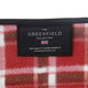 Greenfield Collection XL Luxury Plaid Moisture Resistant Picnic Blanket