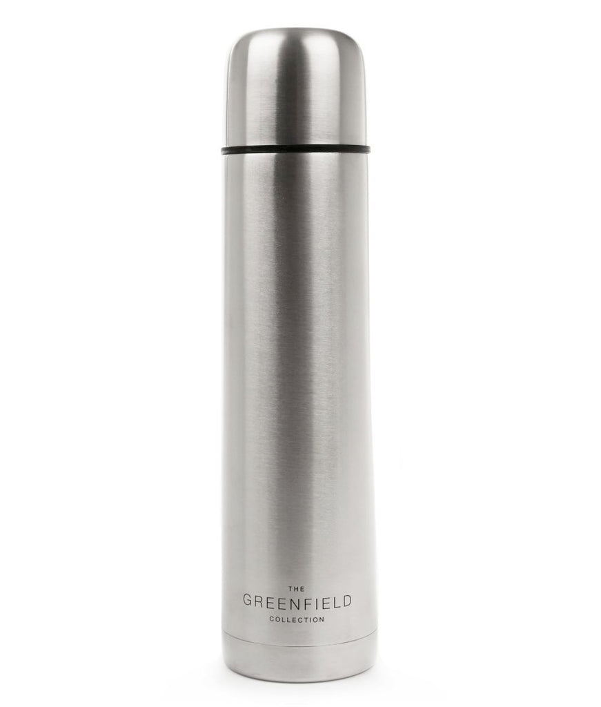 Greenfield Collection 1 Litre Vacuum Insulated Stainless Steel Flask The Greenfield Collection