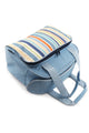 Greenfield Collection Sky Blue 18 Litre Travel Cool Bag The Greenfield Collection