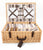 Greenfield Collection Beaulieu Willow Picnic Hamper for Four People