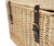 Greenfield Collection Amersham Willow Picnic Hamper for Four People The Greenfield Collection