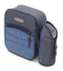 Greenfield Collection Powder Blue Lunch Cool Bag with Removable Bottle Holder