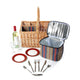 Greenfield Collection Regatta Willow Picnic Hamper for Two People The Greenfield Collection