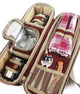 Greenfield Collection Deluxe Flask Hamper Bag for Two People The Greenfield Collection