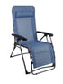 Westfield Outdoors Sky Blue Foldable Zero Gravity Lounger Chair with Detachable Pillow