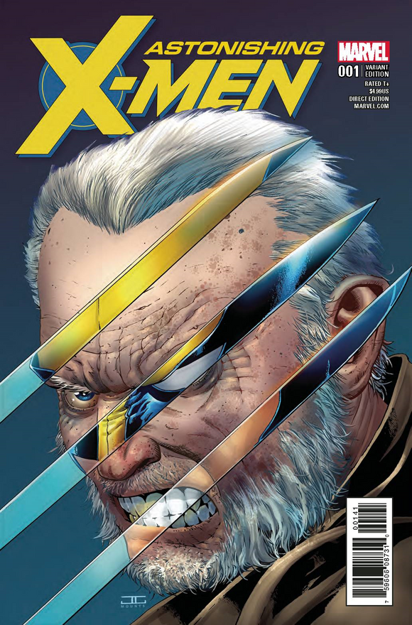 Astonishing X-men 1 1:50 Cassady Variant