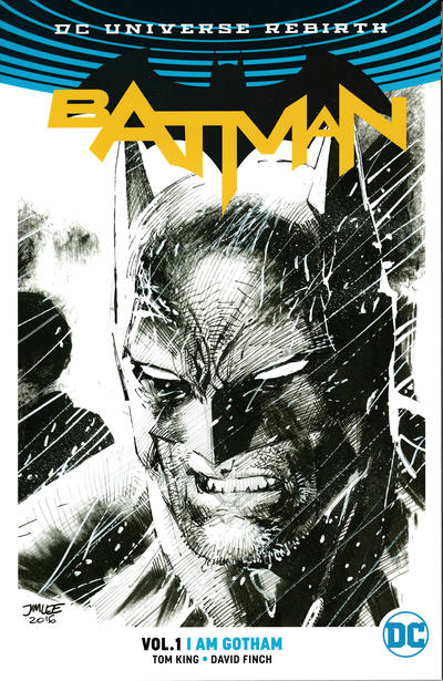 Batman I am Gotham Graphic Novel Jim Lee Penciled Rare Variant