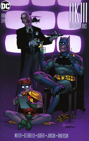 Dark Knight III The Master Race 7 Cover G