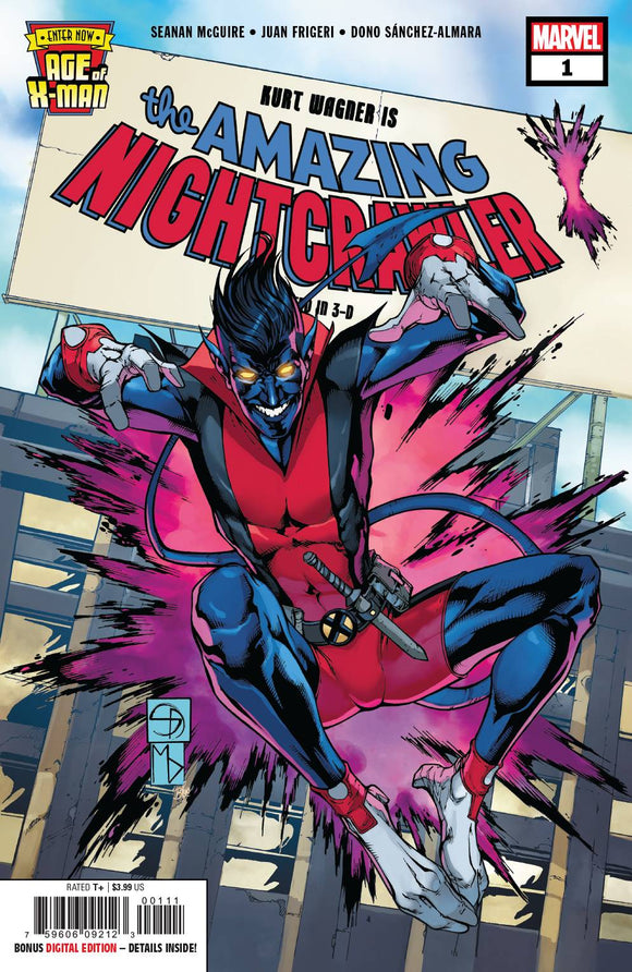 Age of X-Man Amazing Nightcrawler # 1