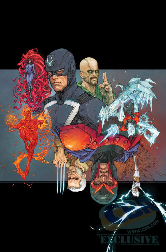 Inhumans vs X-Men # 1 Rocafort 1:50 Variant