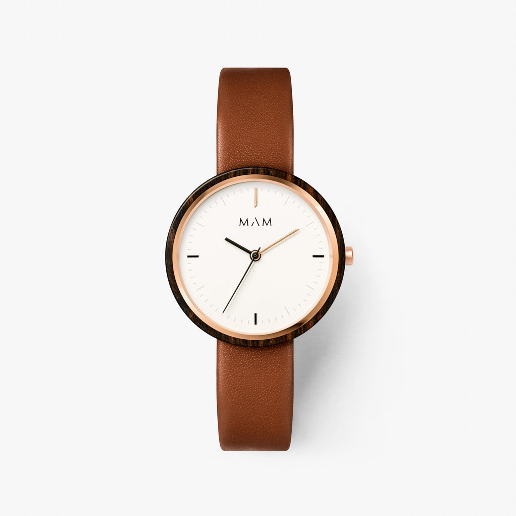 Classic watches wood Mam Originals | PLANO 661