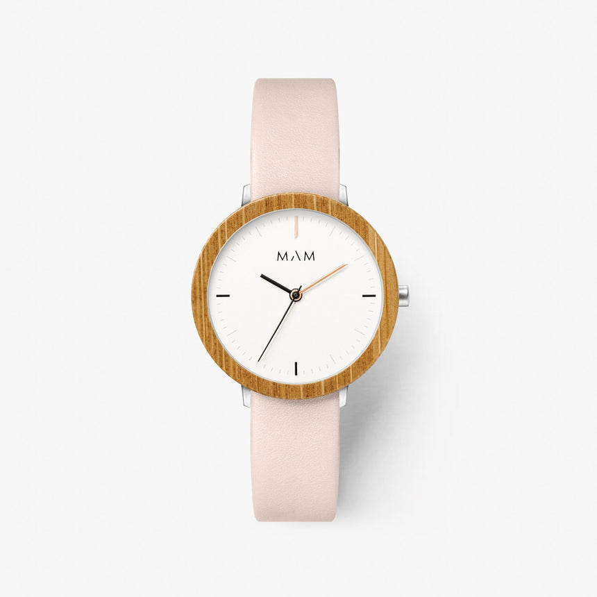 Pink watch wood Mam Originals | FERRA  631