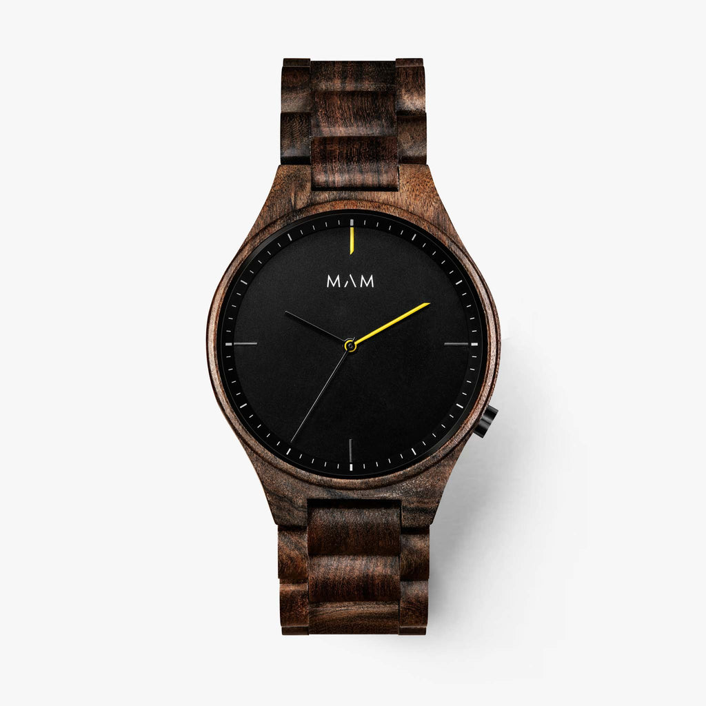 Wood watch for man brands Mam Originals | VOLCANO  611