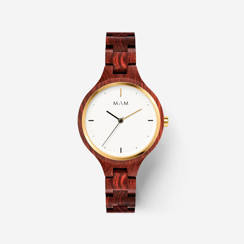Wooden watch brands Mam Originals | SILT 608