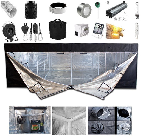 3' x 3' Grow Kit - Wing Reflector Pro Series