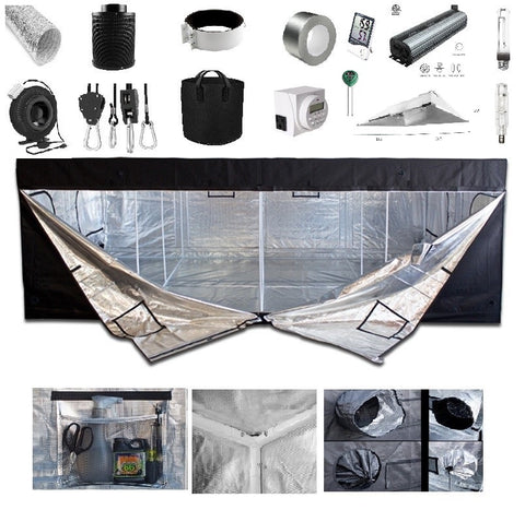 5' x 5' Grow Kit - 3XL Reflector Pro Series