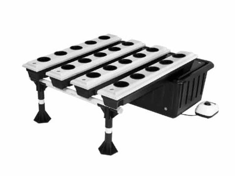 20-Site Super Flow Hydroponic Grow System