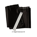 3' x 3' - Grow Tent  2' Height Extension Kit Pro Series