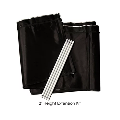 4' x 4' - Grow Tent 2' Height Extension Kit Pro Series