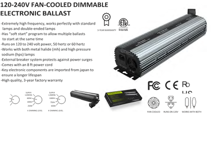 400W Dimmable Electronic Ballast
