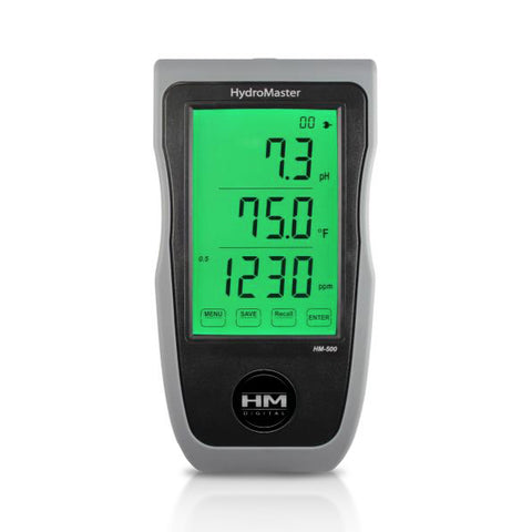 HM Digital HydroMaster Continual Monitor for PH/EC/TDS/Temperature with Rechargeable Battery