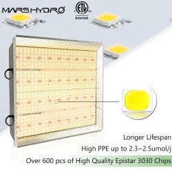 TSW 2000 QB Design Led Plant Grow Light