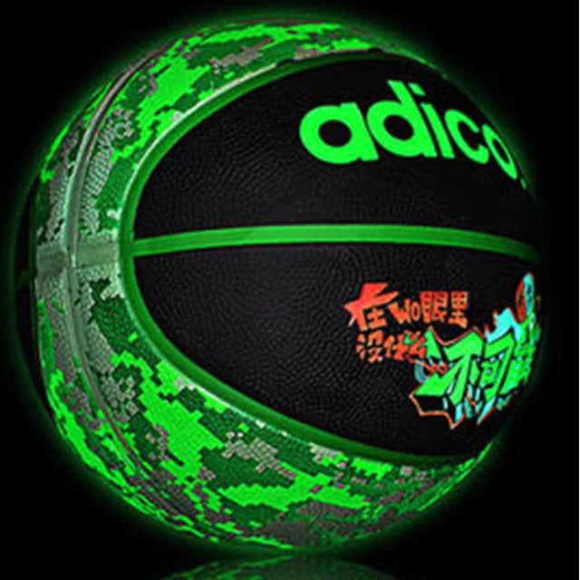 Size 5 and 7 Luminous Basketball for Night Game