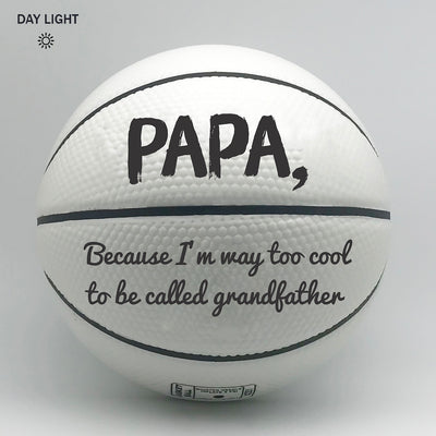 GTStyles Glow in the dark Basketball - Papa Too Cool