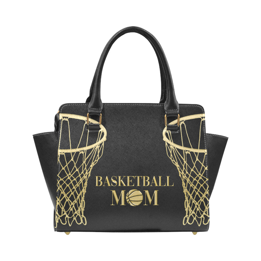 Basketball Mom GTS09 Rivet Shoulder Handbag