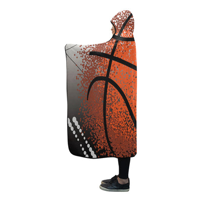"Basketball Hooded Blanket GTS01 80""x56"""