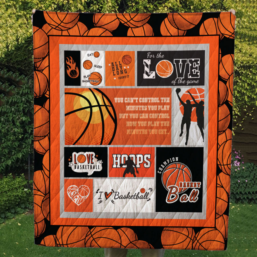 GTStyles I Love Basketball Blanket - Free Shipping for 24hrs only