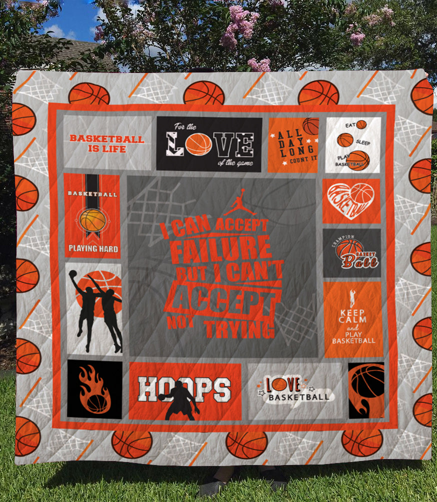 GTStyles Basketball Quilt Blanket Model GTS14