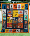 GTStyles Basketball Quilt Blanket GTS05 - Free Shipping for 24hrs only