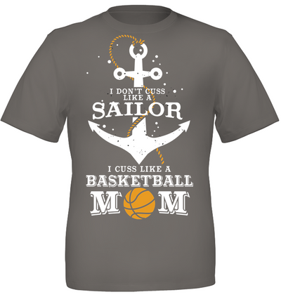 Mother's day gifts I cuss like a basketball mom