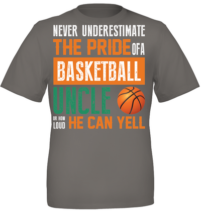 The pride of a basketball uncle Father's day gifts
