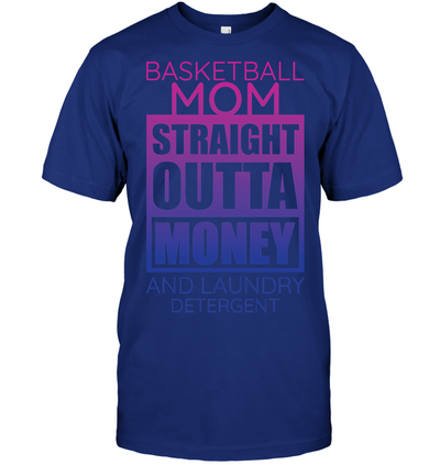 Basketball Mom Straight Outta Money v1