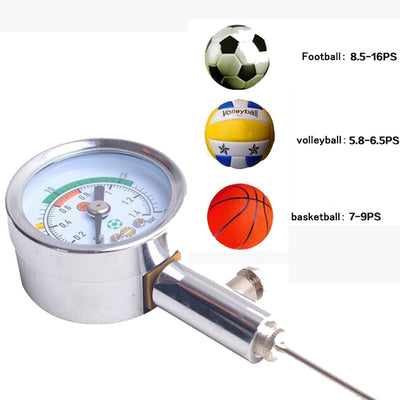 Basketball Pressure Gauge Air Watch