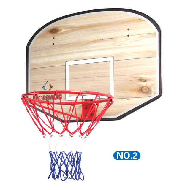 Adult Mini Hanging Basketball Goal Hoop With MDF Backboard