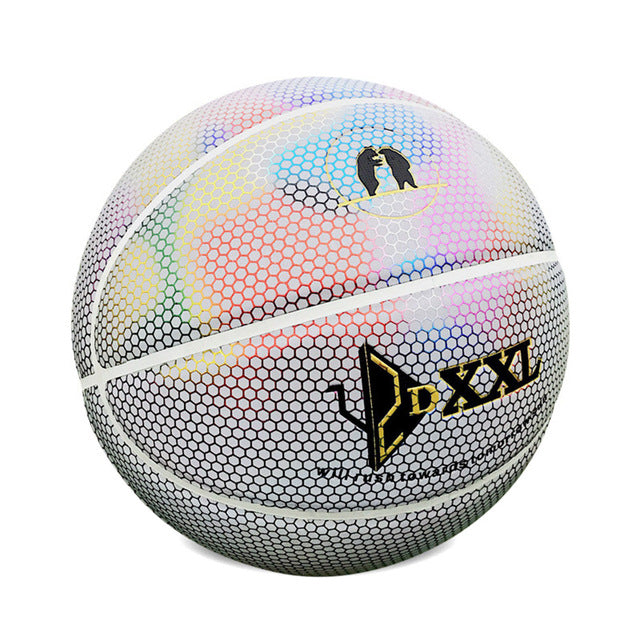 Reflective Rubber Basketball - FREE SHIPPING FOR 24HRS ONLY