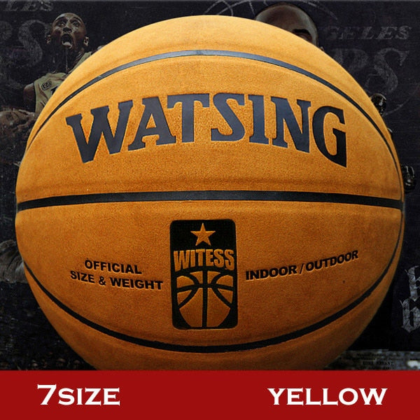 "Professional outdoor and indoor Street Basketball Sizes 29.5"" Free With Net Bag and Needle"