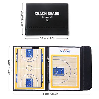 Foldable Basketball Tactic Coach Magnetic Board For Teaching Basketball