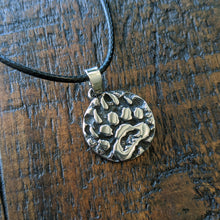 Nordic Bear Paw Rune Amulet Necklace