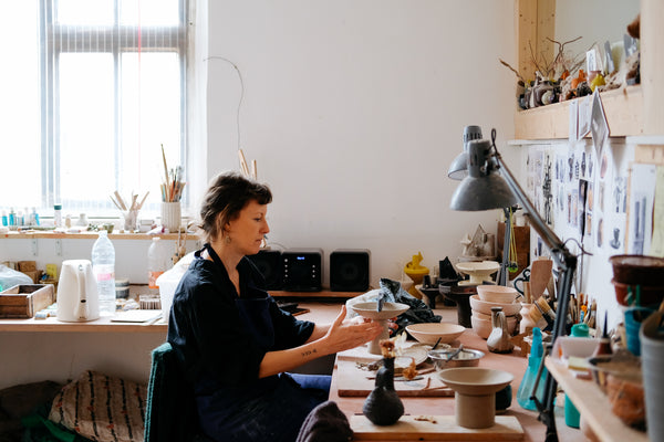 Rencontre + interview avec Catherine Dix Ceramics