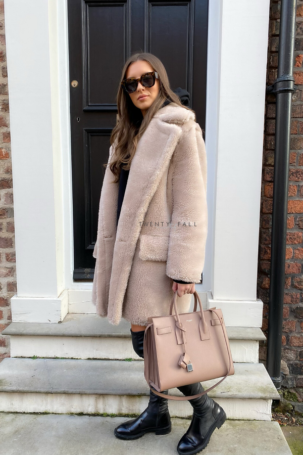 Teddy Coat Midi