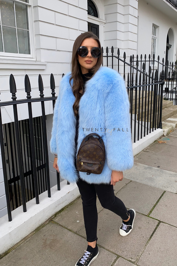 Full Pelt Fox Fur Coat