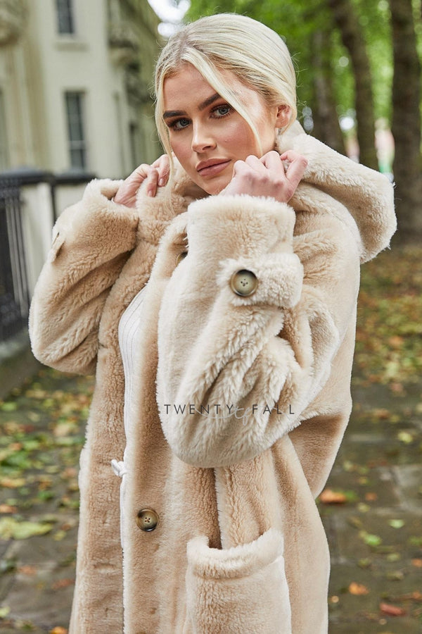 Teddy Coat with Hood