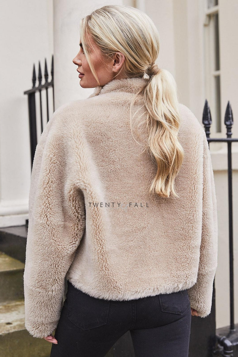 Mara Short Teddy Coat