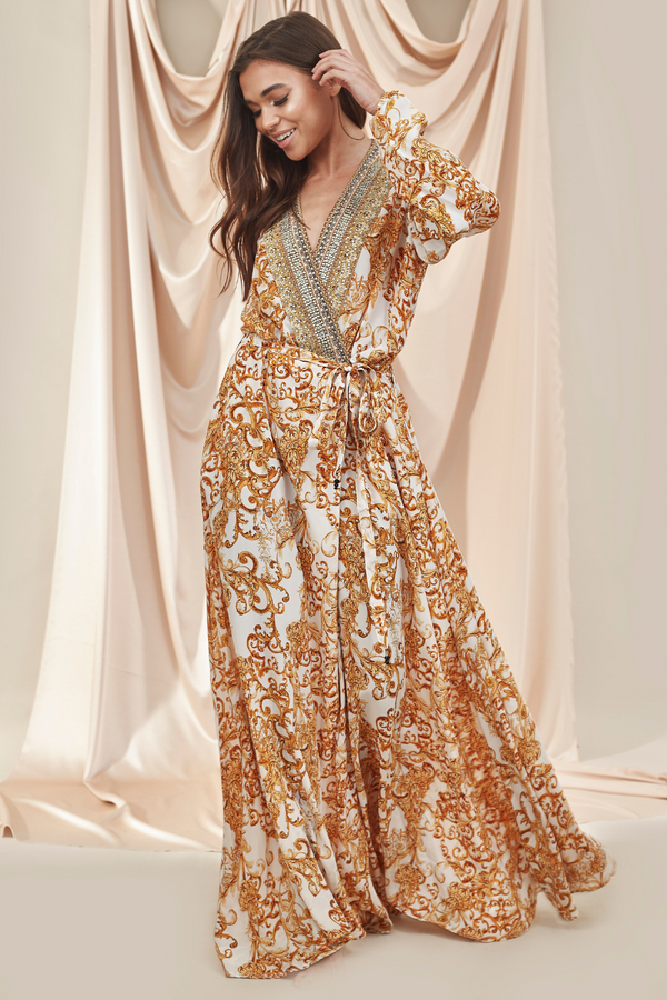 Luxe Silk Robe